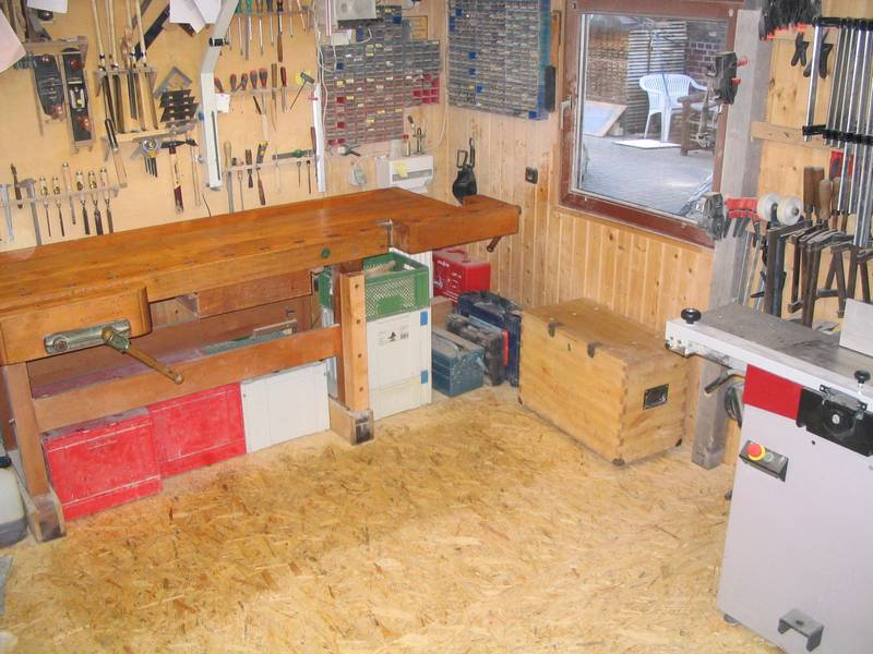 Osb Fußboden Werkstatt ~ Erstmal nur ein neuer werkstattboden