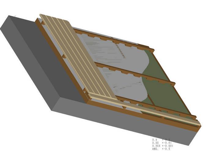 dampfsperre in der sauna decke schwimmbad und saunen. Black Bedroom Furniture Sets. Home Design Ideas