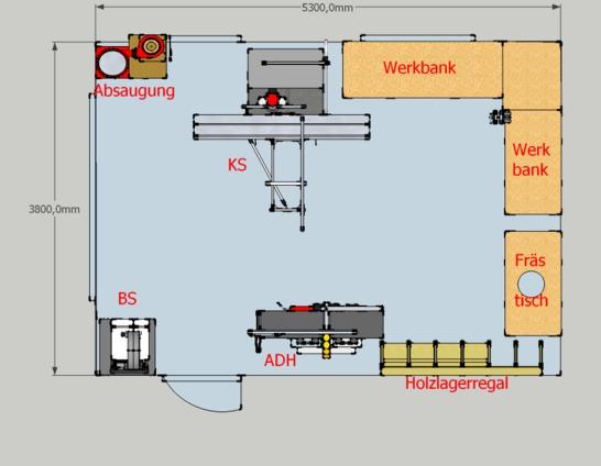 Doppelgarage mit werkstatt  Werkstattplanung